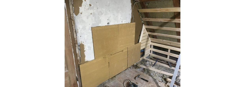 Renovering af værelse i murermestervilla i Vanløse
